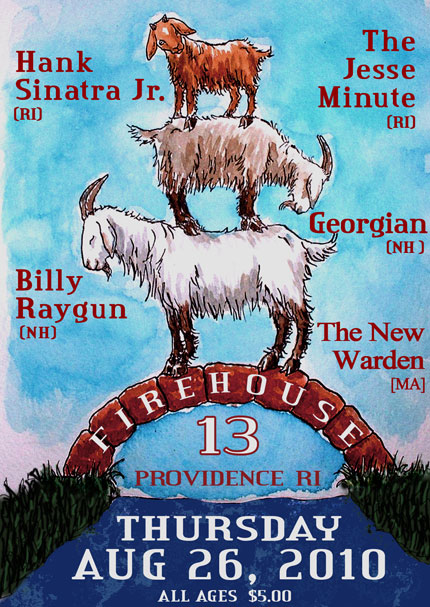 TONIGHT!  Firehouse 13 in Providence