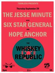 Show at the Whiskey Republic